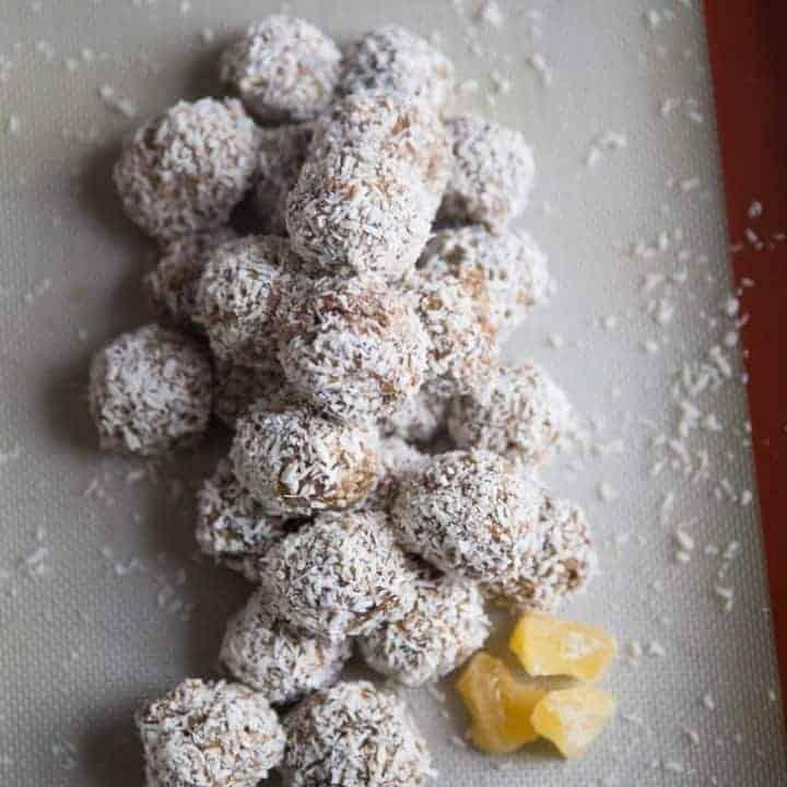 Pina Colada Energy Balls Recipe (Paleo, Grain Free, Gluten Free)