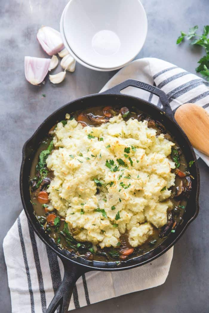 Vegan Pot Pie Skillet
