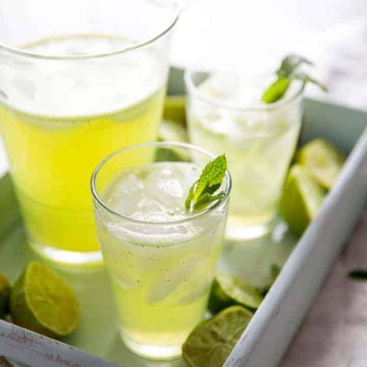 Lime Mint Agua Fresca Recipe