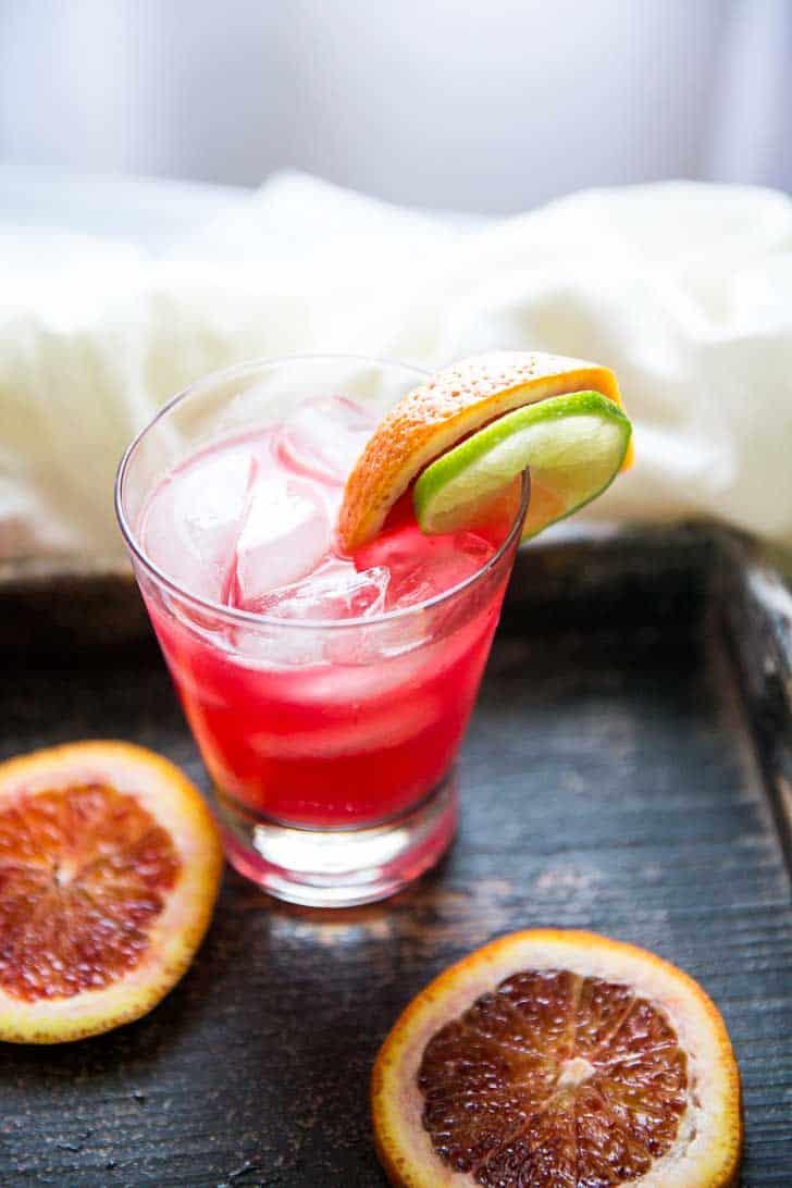 Blood Orange Crush Cocktail