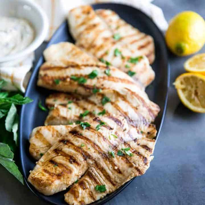 Easy Grilled Tilapia Recipe With Basil Aioli Lemons For Lulu