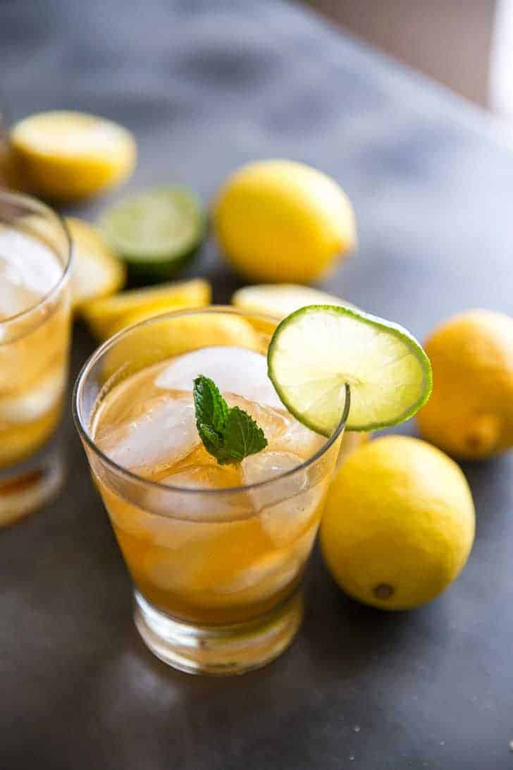 Iced Tea Recipe with bourbon