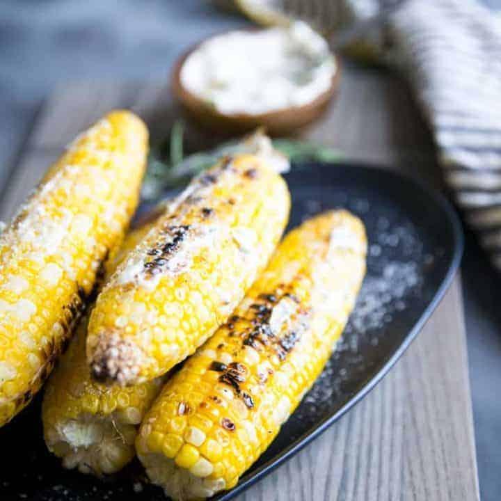 Herb Grilled Corn Recipe