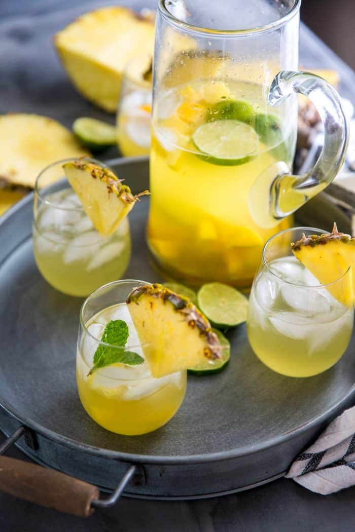 Summer sangria pitcher