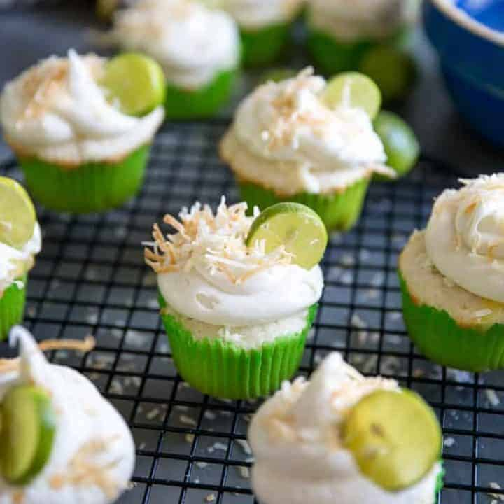 Tequila Key Lime Cupcakes