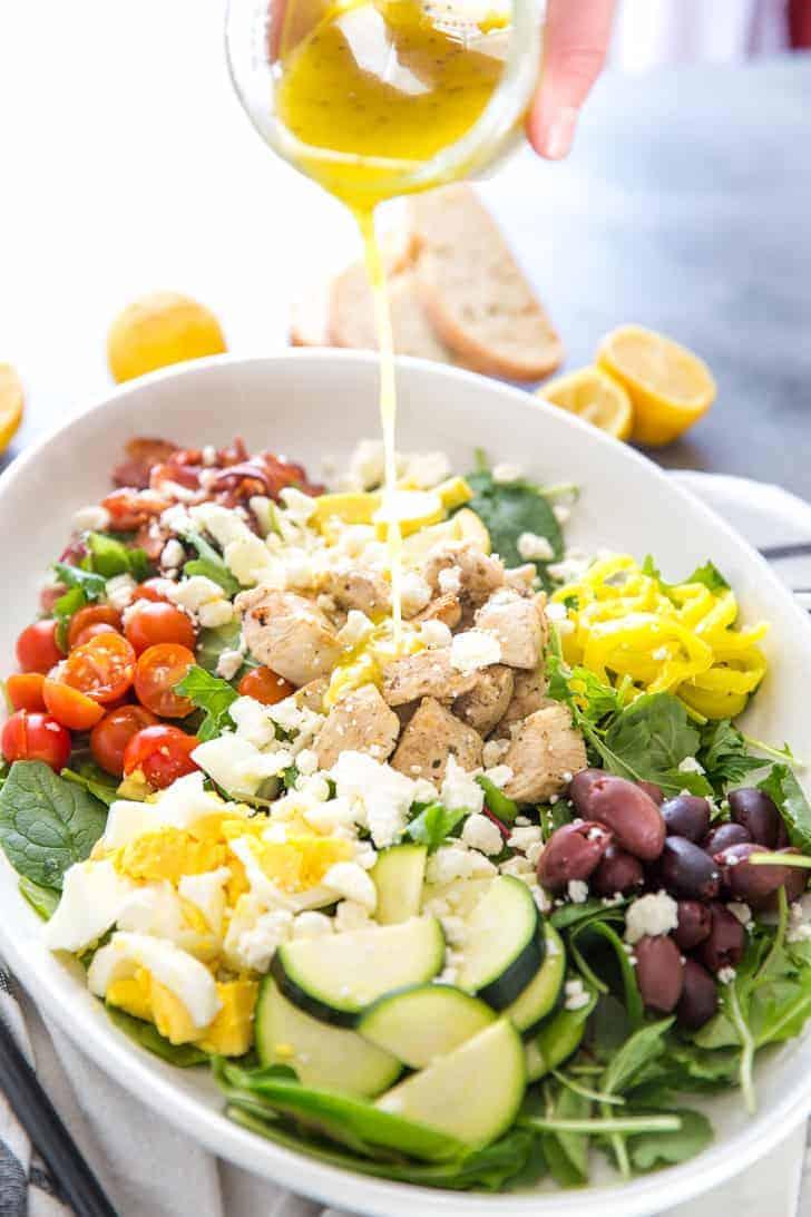 Greek Cobb Salad Recipe