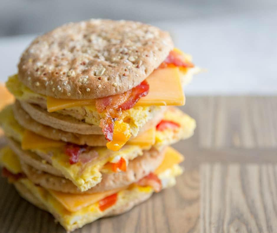 Denver Sandwich: Denver Omelet Breakfast Sandwich