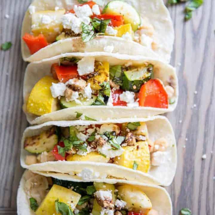 Roasted Veggie Taco Recipe