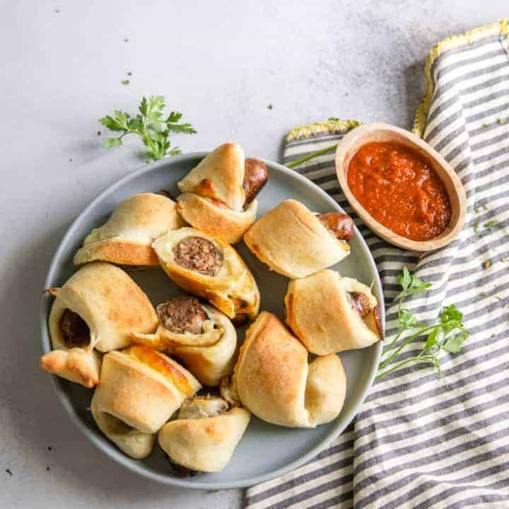 Jumbo Pizza Pigs in a Blanket