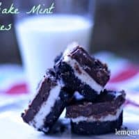 No Bake Mint Squares