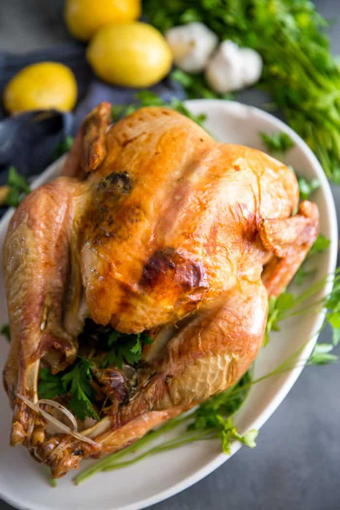 Greek roast turkey recipe