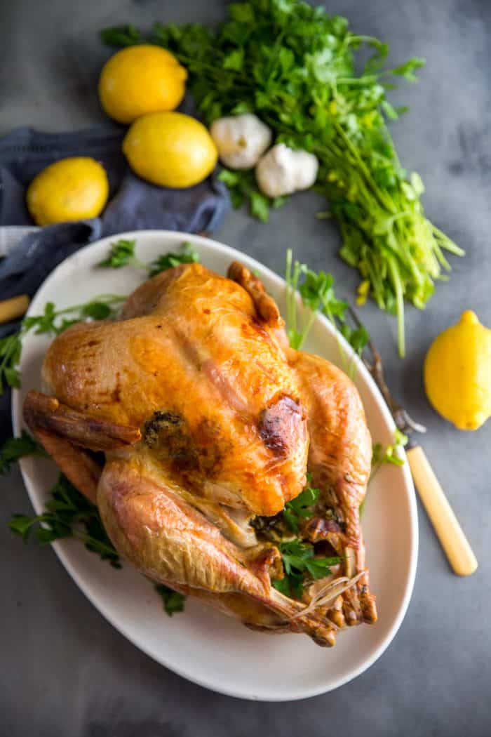 Whole Roast Turkey Recipe