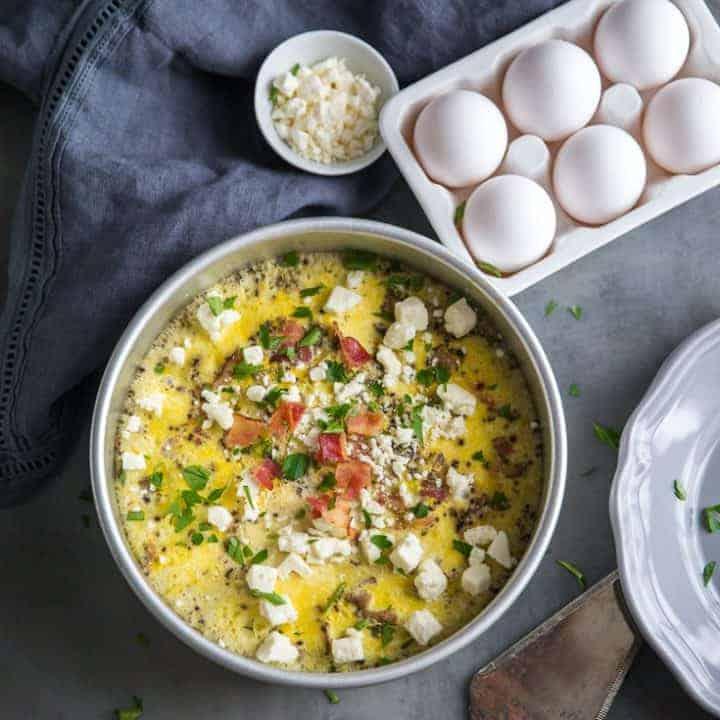 Instant Pot Breakfast Egg Casserole