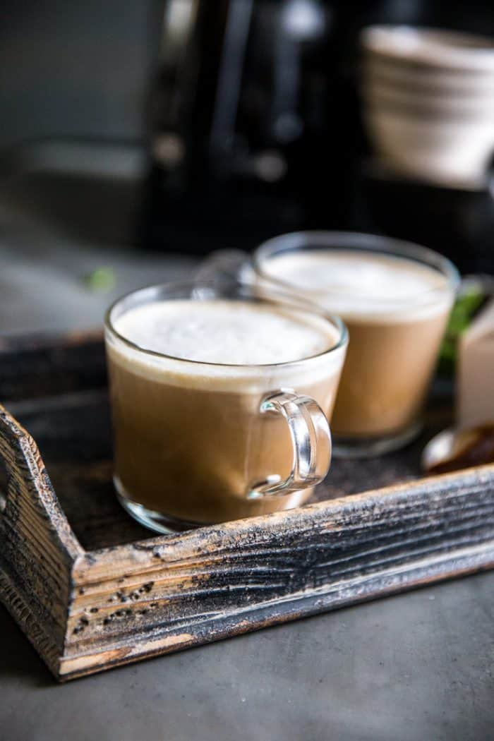 chocolate coffee two mugs