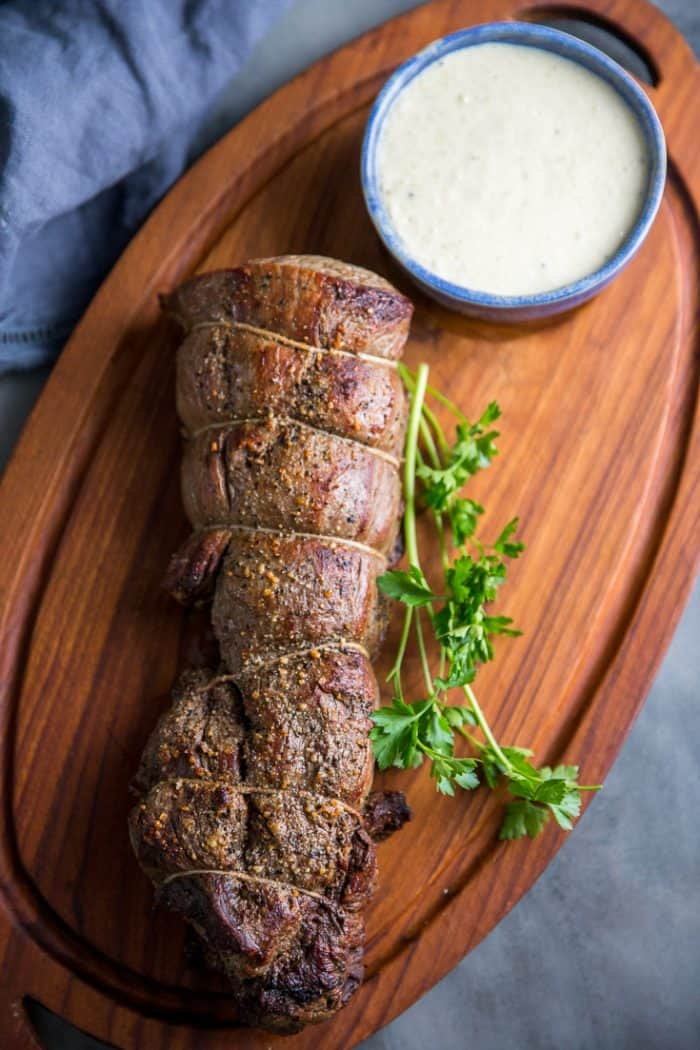 how to cook beef tenderloin trimmed