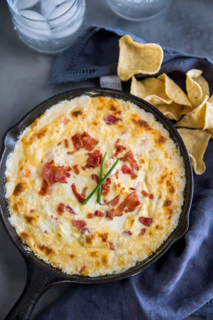 shrimp dip made with gouda
