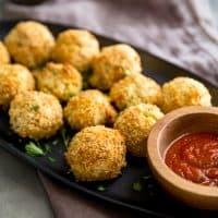 Baked Risotto Balls (Arancini)
