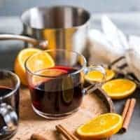 Warm Red Wine Sangria