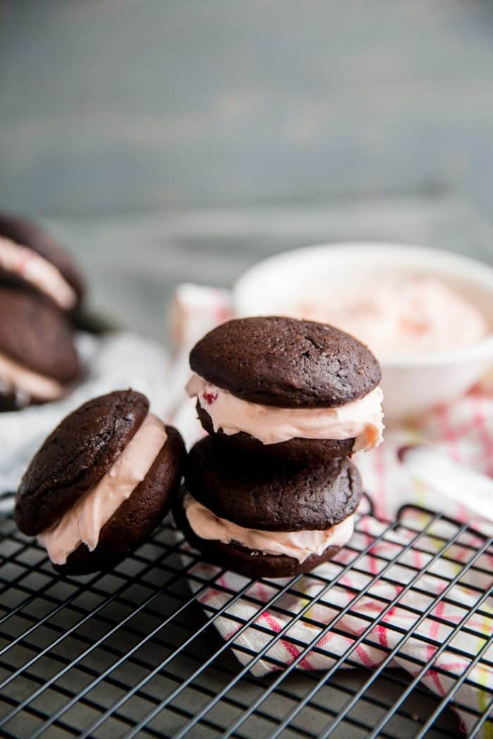 stacked chocolate whoopie pie recipe