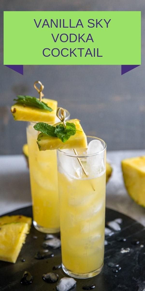 Vodka cocktail title
