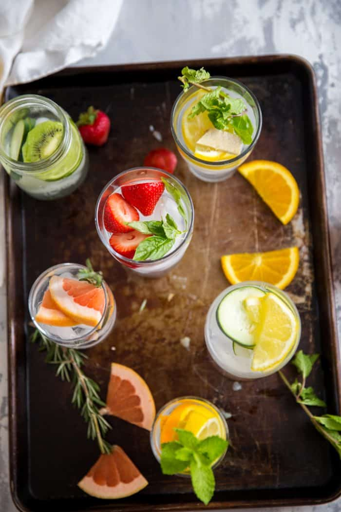 Detox water 6 glasses