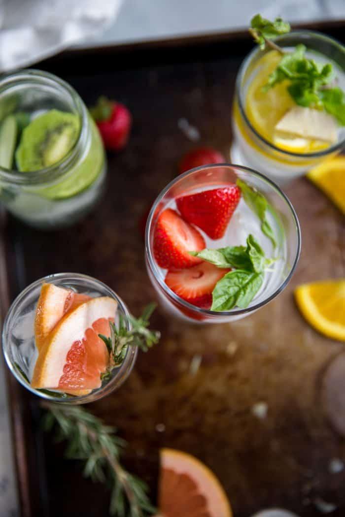 Detox Cucumber Lemon Water With Mint Lemons For Lulu