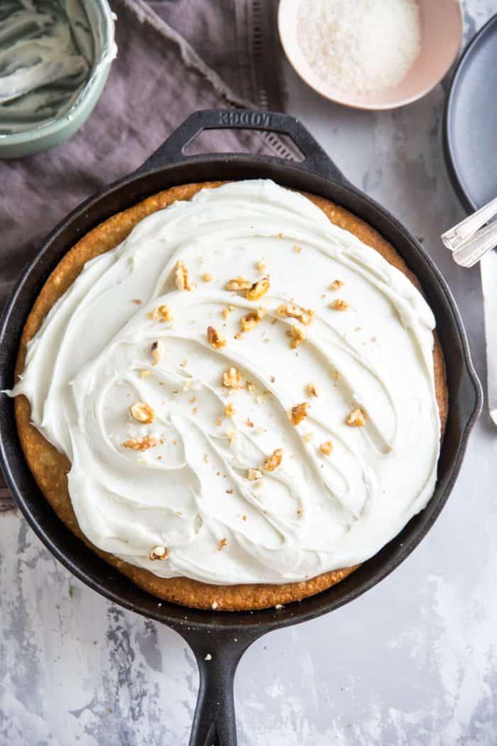 Hummingbird CakeSkillet cake
