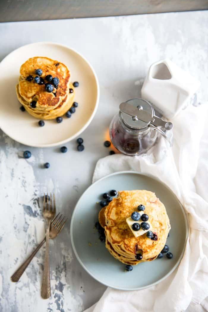 pancake recipe two plates