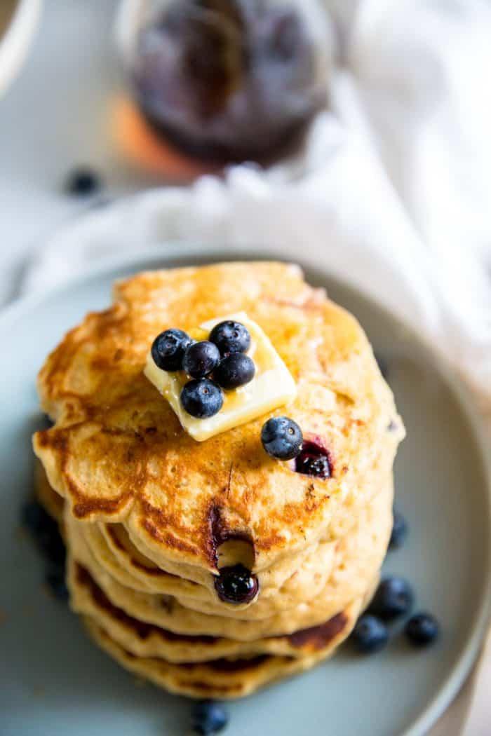 pancake recipe with blueberries