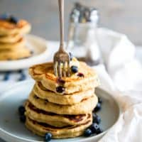 Blueberry Quinoa Pancake Recipe