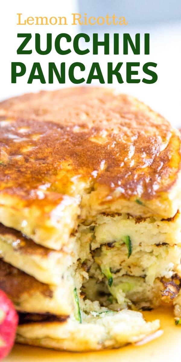 zucchini pancakes title