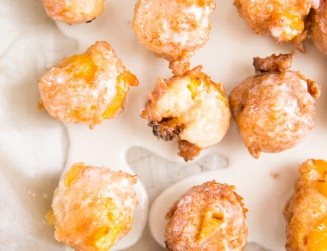 peachy fritters