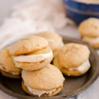 Caramel Apple Whoopie Pies