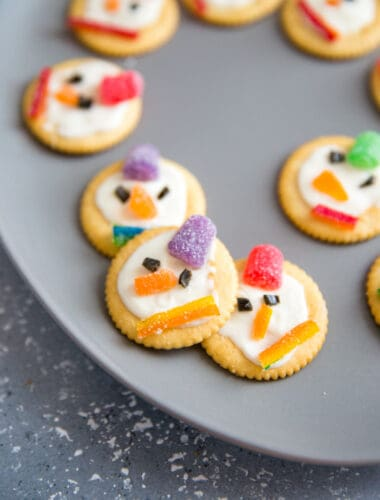 Ritz snowmen faces