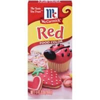 McCormick Red Food Color, 0.25 Fl. Oz (4 Count)