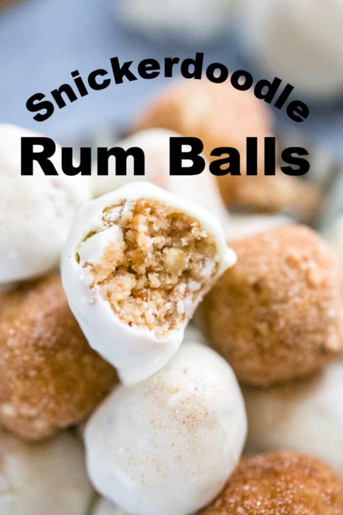 Rum Balls title