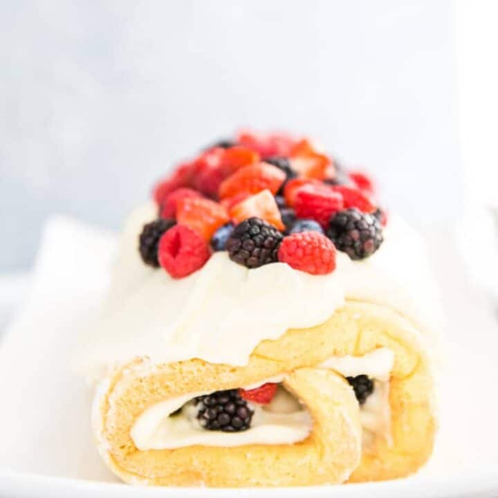 Chantilly Cake Roll