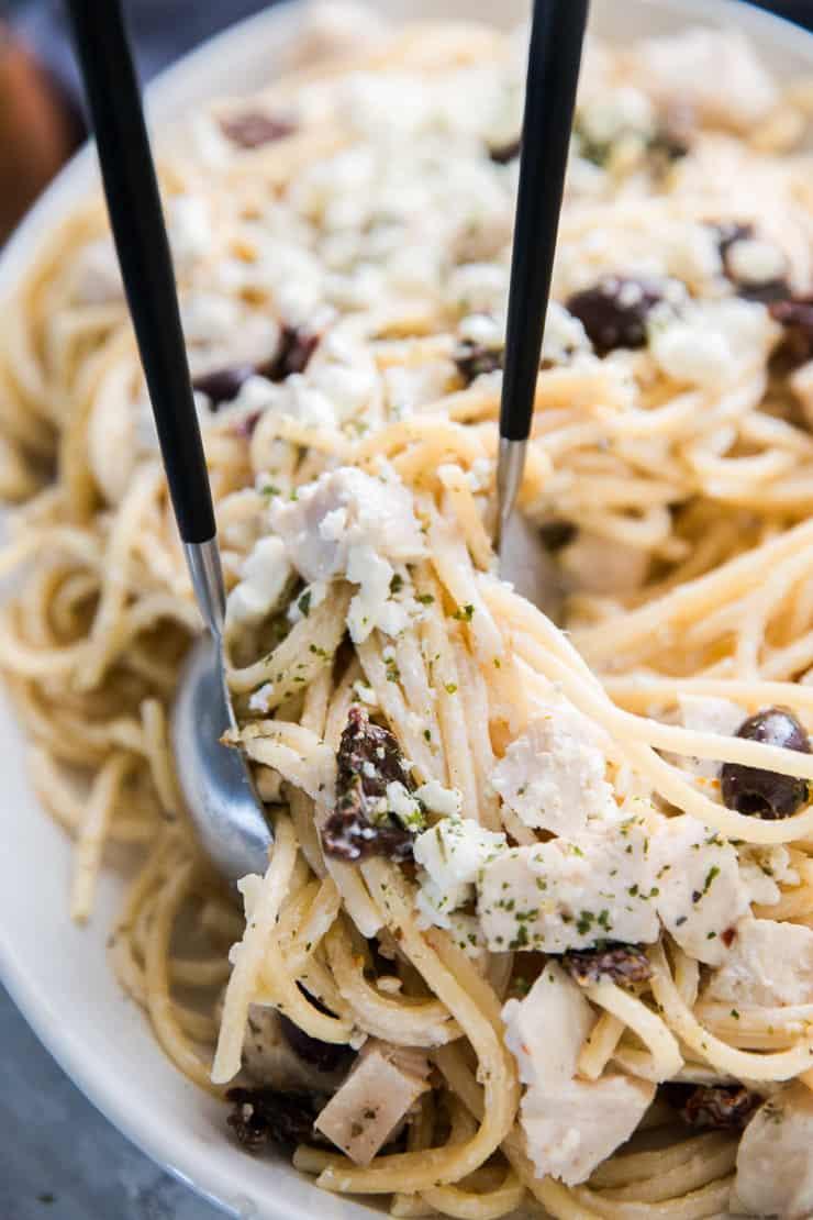 Tossed Mediterranean Pasta Recipe