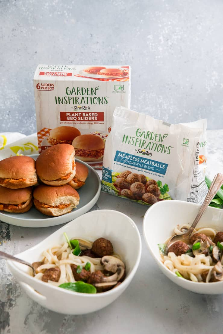 all Farm Rich meatless products